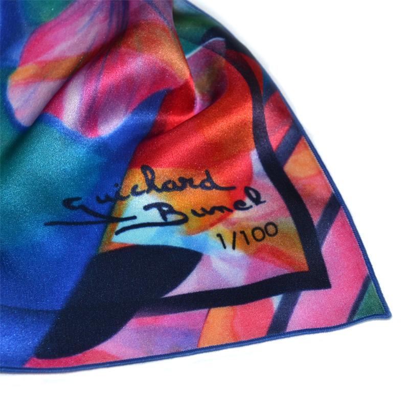 Foulard d art en soie